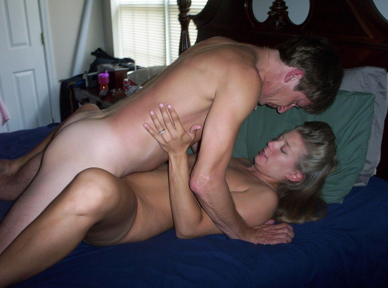 Amateur young couple home