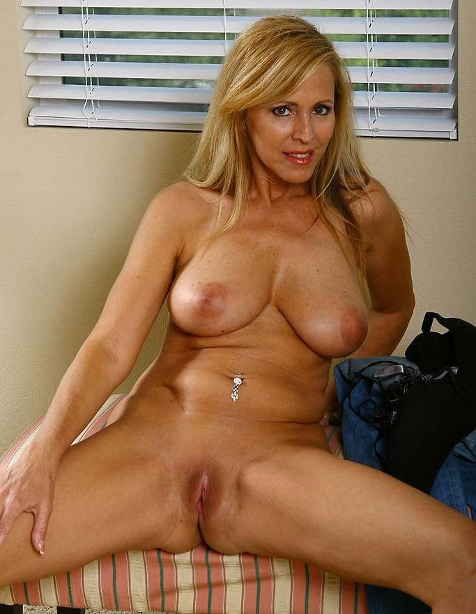 Real amateur cougars posing nude
